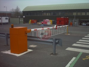 Automatic industrial barrier 2