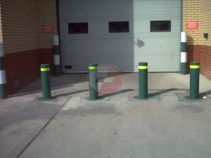 Automatic rising bollards  4