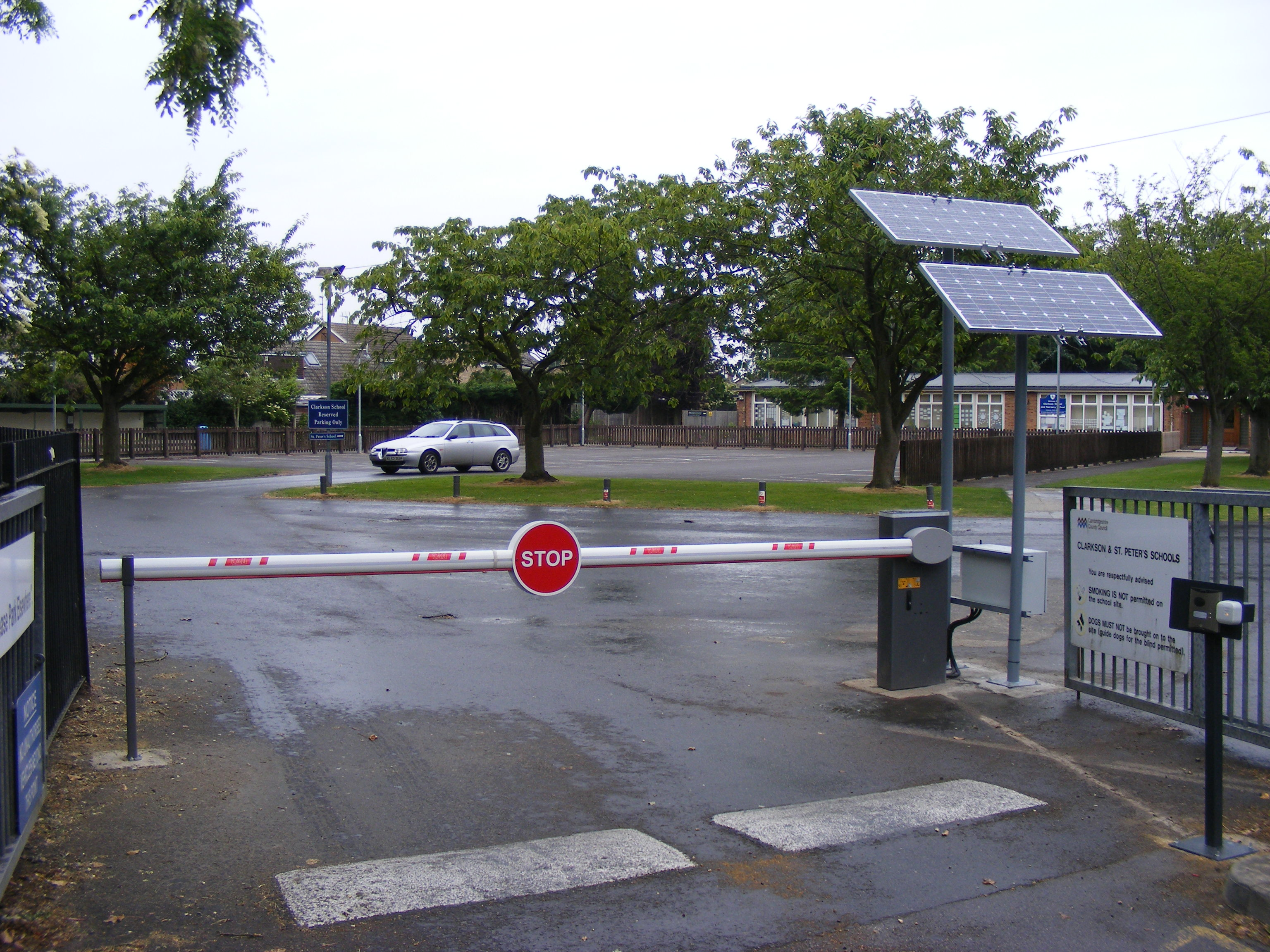Solar Powered Automatic Barrier