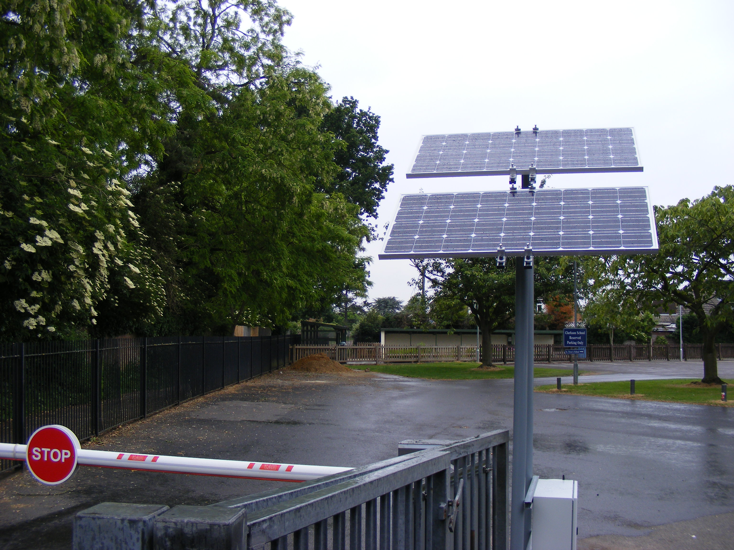 Solar Powered Automatic Barrier Automate Systems