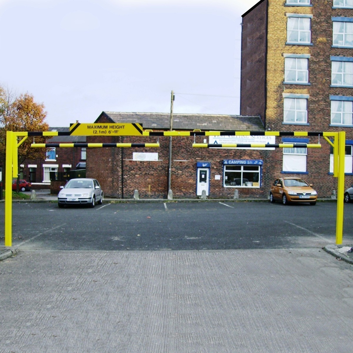 Height Restriction Barriers Auto Mate Systems