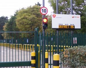 Car Park Traffic Light System