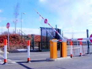 automatic industrial barrier