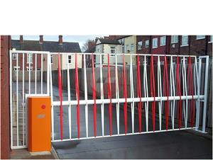 car park barrier and gate