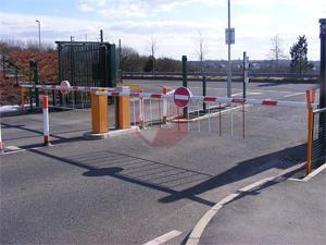 car park gates