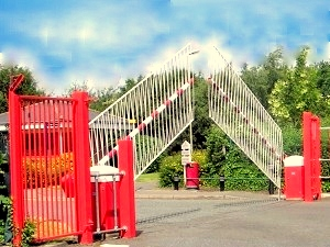 High security barrier