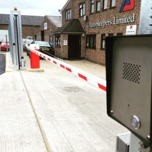 Automatic Barrier & Intercom