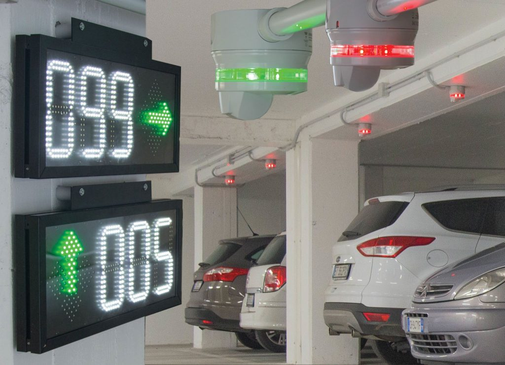 car park counter system
